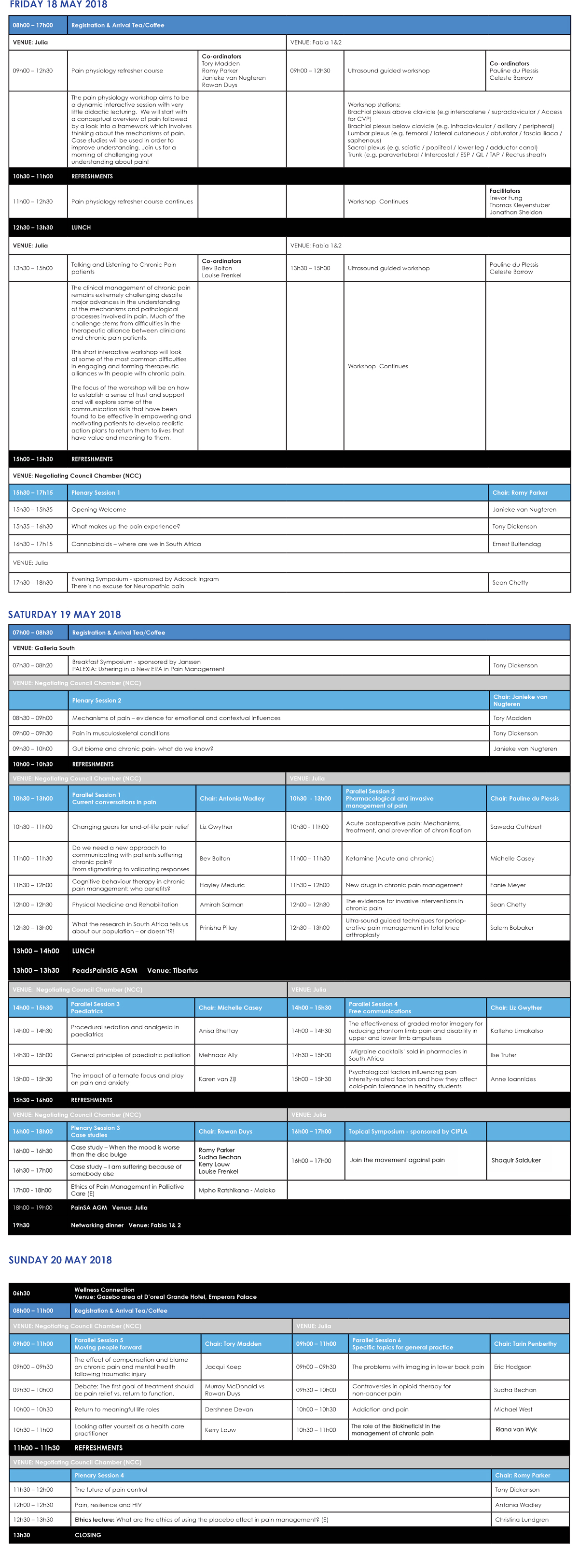 A4-2018-PAINSA-congress-programme.indd